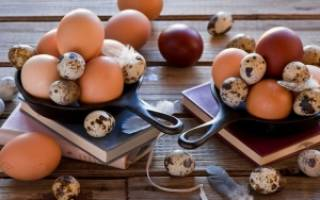 В чем отличие перепелиных яиц от куриных
