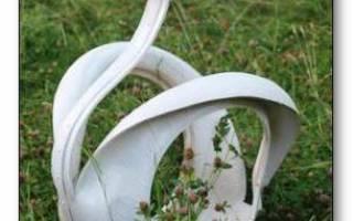 Как сделать лебедей из шин: пошаговый мастер класс с фото