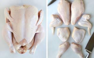 Как правильно разделать курицу: инструкция с фото, видео